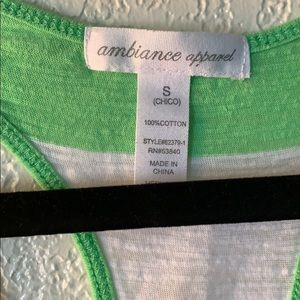 Ambiance Tops - Cotton Tank Top
